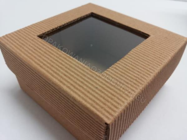 Pudełko EKO z okienkiem
