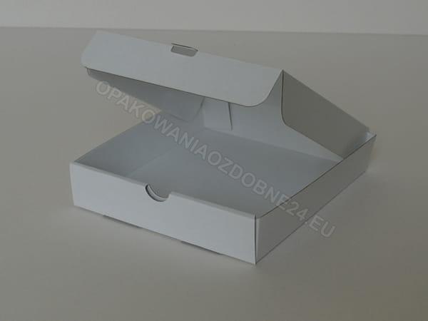 białe pudełko na cd