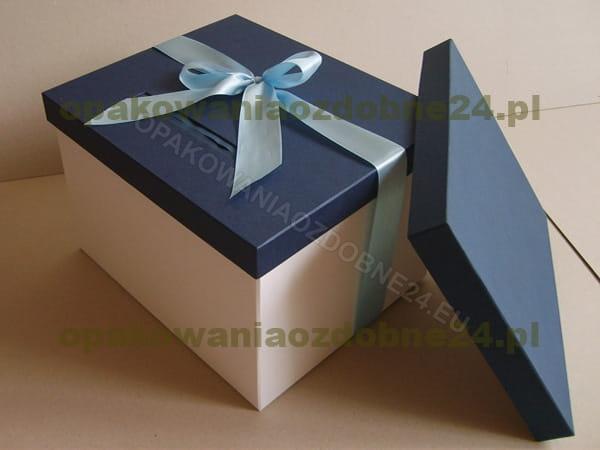 pudełko na koperty - białe