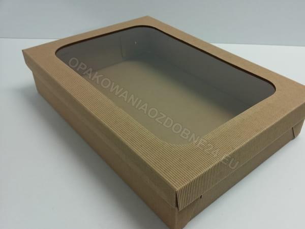 pudełko z okienkiem
