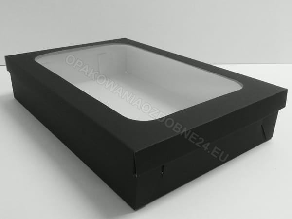 czarne pudełko na koszule