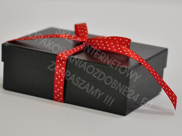 czarne pudełko ozdobne